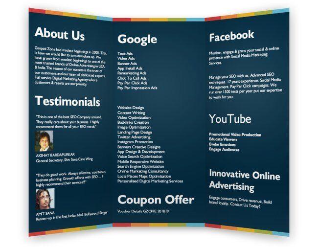 SEO Company Catalogue India